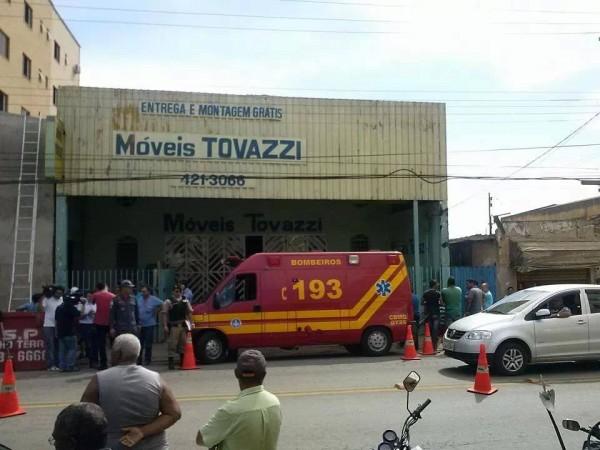 Local do acidente. Foto: Zeca Alves