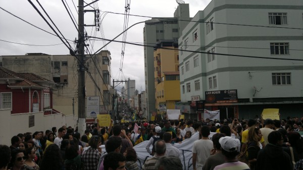Manifestações em Pouso Alegre