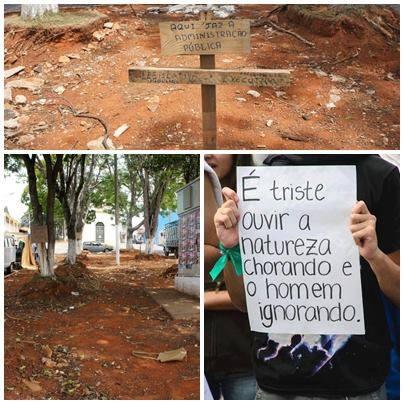 (Fotos: Dilma Braga / Reprodução Facebook)