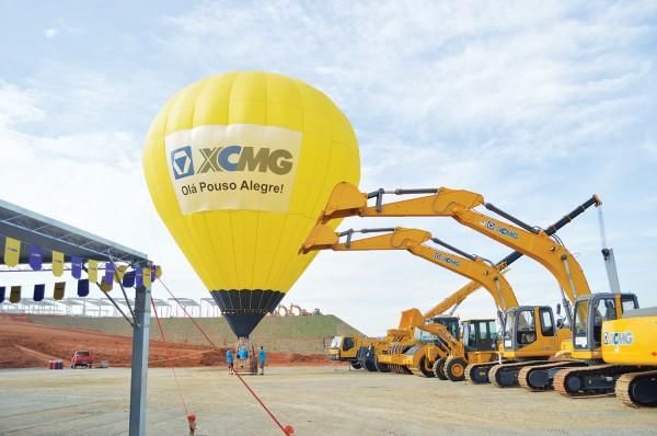 Com estadia custeada pela XCMG, grupo será coordenado pela prefeitura de Pouso Alegre, que já tem um acordo diplomático e comercial em Xuzhou