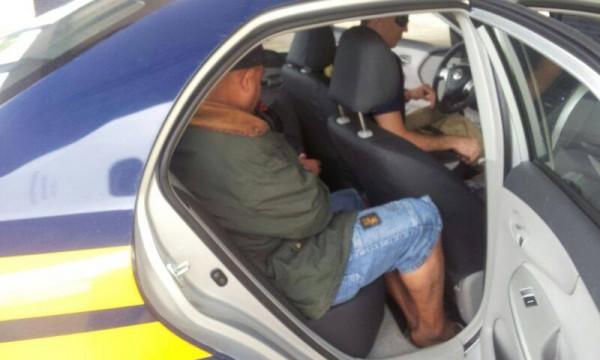 Motorista embriagado foi preso (Foto: Polícia Rodoviária Federal/ Pouso Alegre)