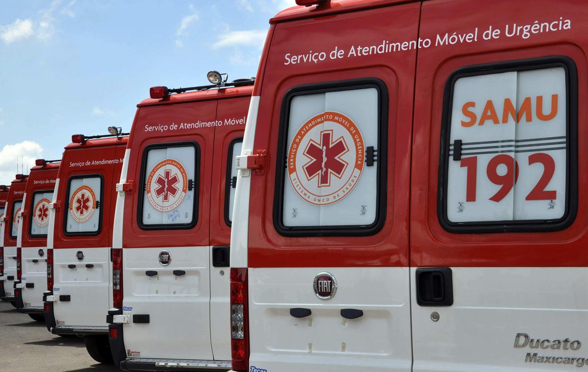 Duas ambulâncias do SAMU ficarão a disposição 24 por dia em Pouso Alegre. (Foto: Divulgação)