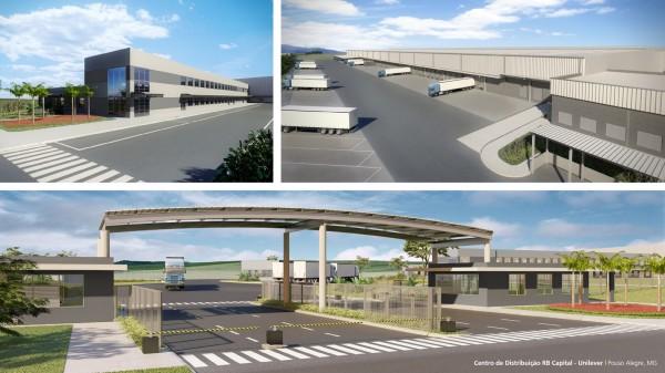 Novo Centro de Distribuição da Unilever