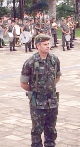 Tenente Coronel Sudário Rios Braga é o novo comandante do 14º Grupo de Artilharia de Campanha. Foto: Fernando Lima
