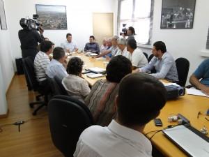 Creches fizeram reunião com o prefeito