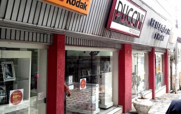 Tradicional em Pouso Alegre, Puccini fechou a última de suas lojas. Foto: Fernando Lima