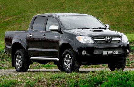 Falso comprador levou a Toyota Hyllux  a um mecânico e fez dois test-drives antes de rouba-la.
