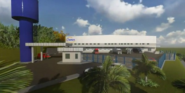 Cremer anunciou a contrução de um Centro de Distribuição em Pouso Alegre. Imagem: Reprodução Youtube / Guilherme Andrade