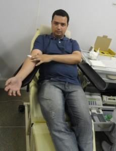 Servidores da Superintendência Regional de Saúde de Pouso Alegre, estão se cadastrando como doadores de medula durante o mês de março.  Foto; Divulgação