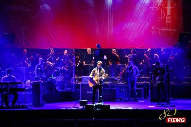 Skank e a Orquestra de Câmara Sesiminas. Foto: Divulgação FIEMG