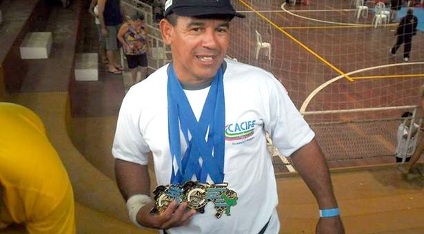 Mestre Wilson Brandão conquista mais um título nacional. Foto: EPA