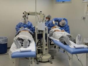 Ações como o 'Mutirão de Catarata' já eram realizados na Policlínica