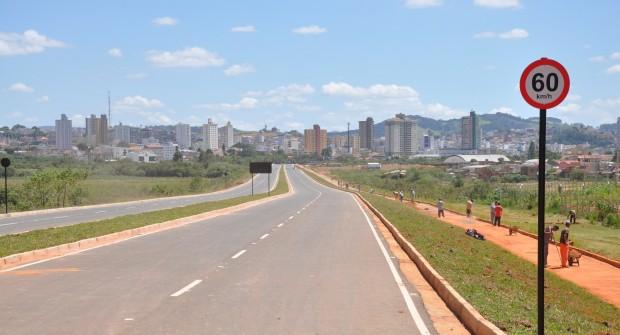 Avenida sobre o dique 2 será liberada nesta quarta. Foto: Divulgação Ascom Prefeitura