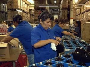 Fábrica de Pouso Alegre contrata bolivianos por falta de mão de obra (Foto: Reprodução EPTV)