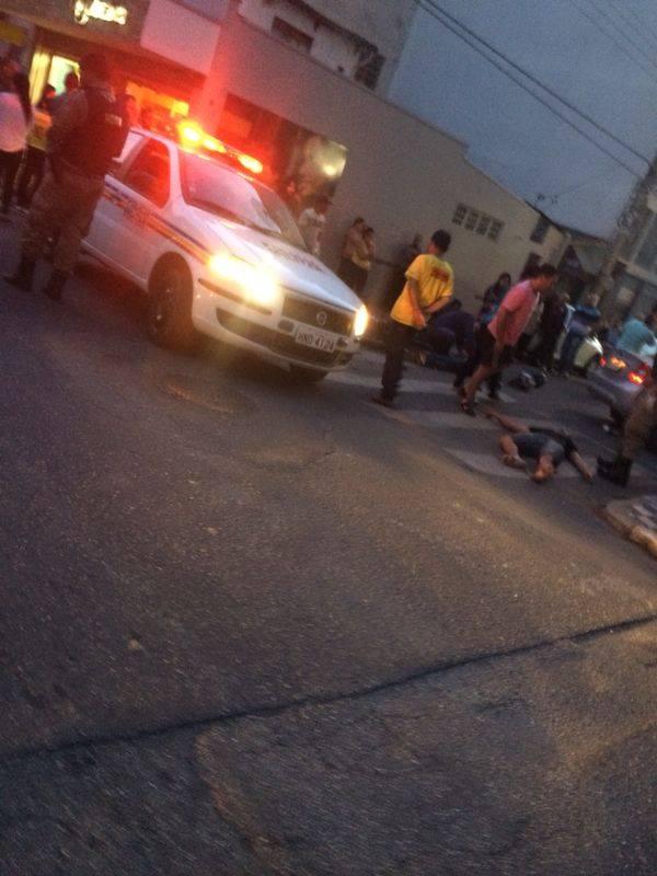 Acidente aconteceu em cruzamento da Comendador José Garcia e . Imagem: Reprodução Facebook Fernando Lima