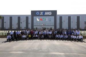 Cerimônia oficial acontece na manhã desta sexta-feira (6). Fundada em 1989 na China, fábrica no Brasil emprega cerca de 140 funcionários, sendo metade de brasileiros.