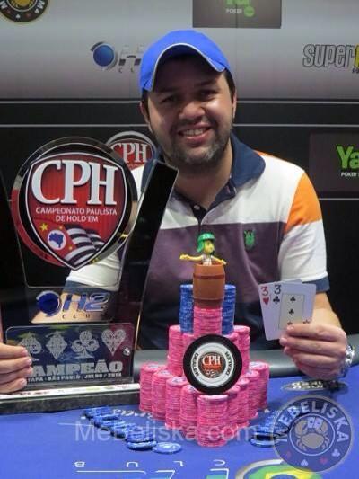 Rodolfo Lopes cravou a 6º etapa do torneio e se tornou líder da classificação. Foto: Reprodução mebeliska.com