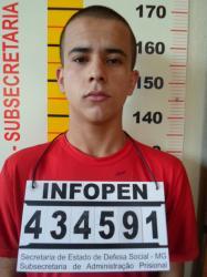 Murilo Freitas da Silva, 20 anos, é natural de Bom Repouso. Foto: Blog do Airton Chips