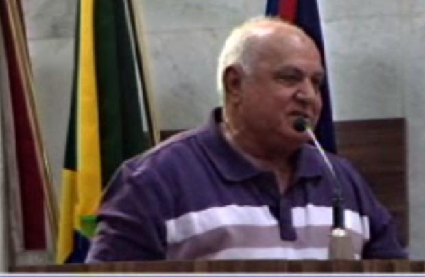 Ismael Candido Ferreira apresentou os problemas dos moradores. Imagem: TV Câmara