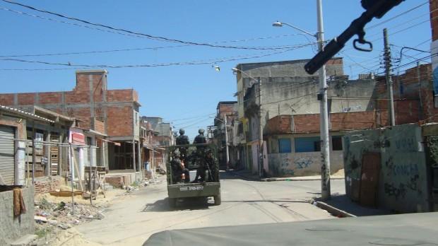 Militares do 14º GAC estão no Rio de Janeiro. Foto: Divulgação 14º GAC