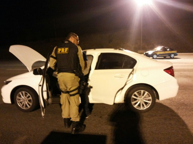 Homem foi preso durante operação 'Vida Loka'. Foto: PRF