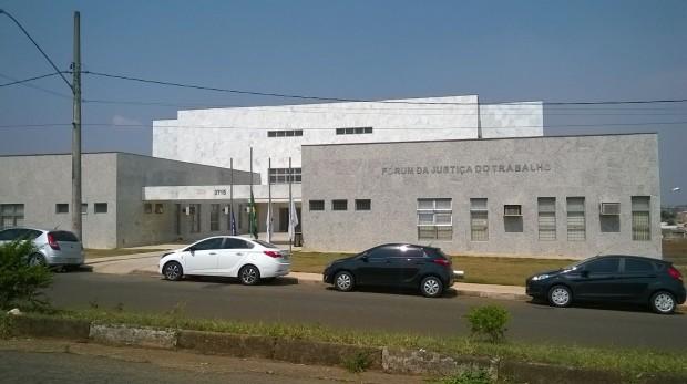 Novo prédio do Fórum Trabalhista será inaugurado nesta sexta-feira (17). Foto; Pouso Alegre .NET