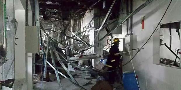 Carlos Israel dos Santos Souza teve queimaduras em 90% do corpo e não resistiu aos ferimentos. Outras 26 pessoas ficaram feridas no acidente.
