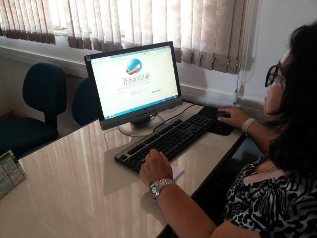 A ferramenta está disponível para pais e responsáveis na página oficial da Prefeitura na internet. Imagem: Divulgação Prefeitura