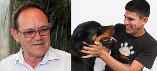 Enéas Chiarini (PR) e Hélio da Van (PT)