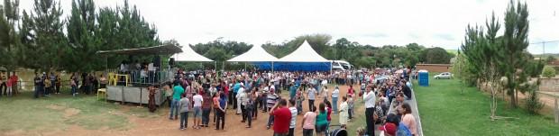 Mais de 1.000 pessoas passaram pelo evento. Foto: Pouso Alegre .NET