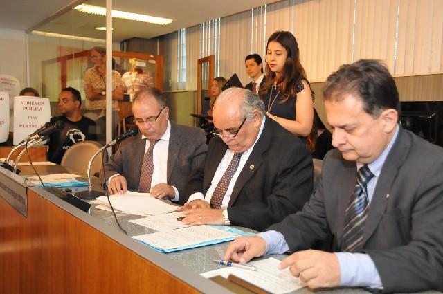 O relator concluiu pela constitucionalidade do projeto em sua forma original. Foto: Ascom ALMG