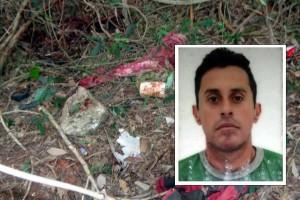 Corpo da vítima foi encontrado em um matagal a beira do Rio no bairro São Geraldo.