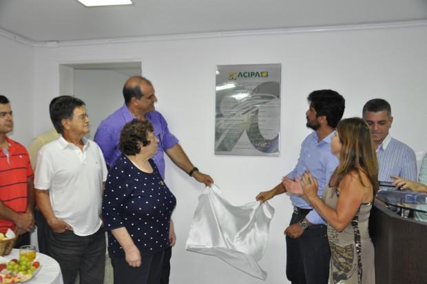 Inauguração contou com a presença dos diretores da Associação. Foto: Ascom