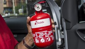 Extintor de incêndio do tipo ABC. Foto: Marcelo Camargo/Agência Brasil