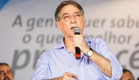 """Fernando Pimentel admite possibilidade de racionamento """"severo"""" em Minas Divulgação"""