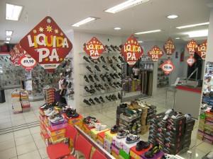 No Liquida PA pode se encontrar produtos com até 70% de desconto.