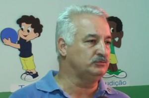 Presidente da Creche, Jesus de Souza Pagliarini. Imagem: Reprodução TV Libertas