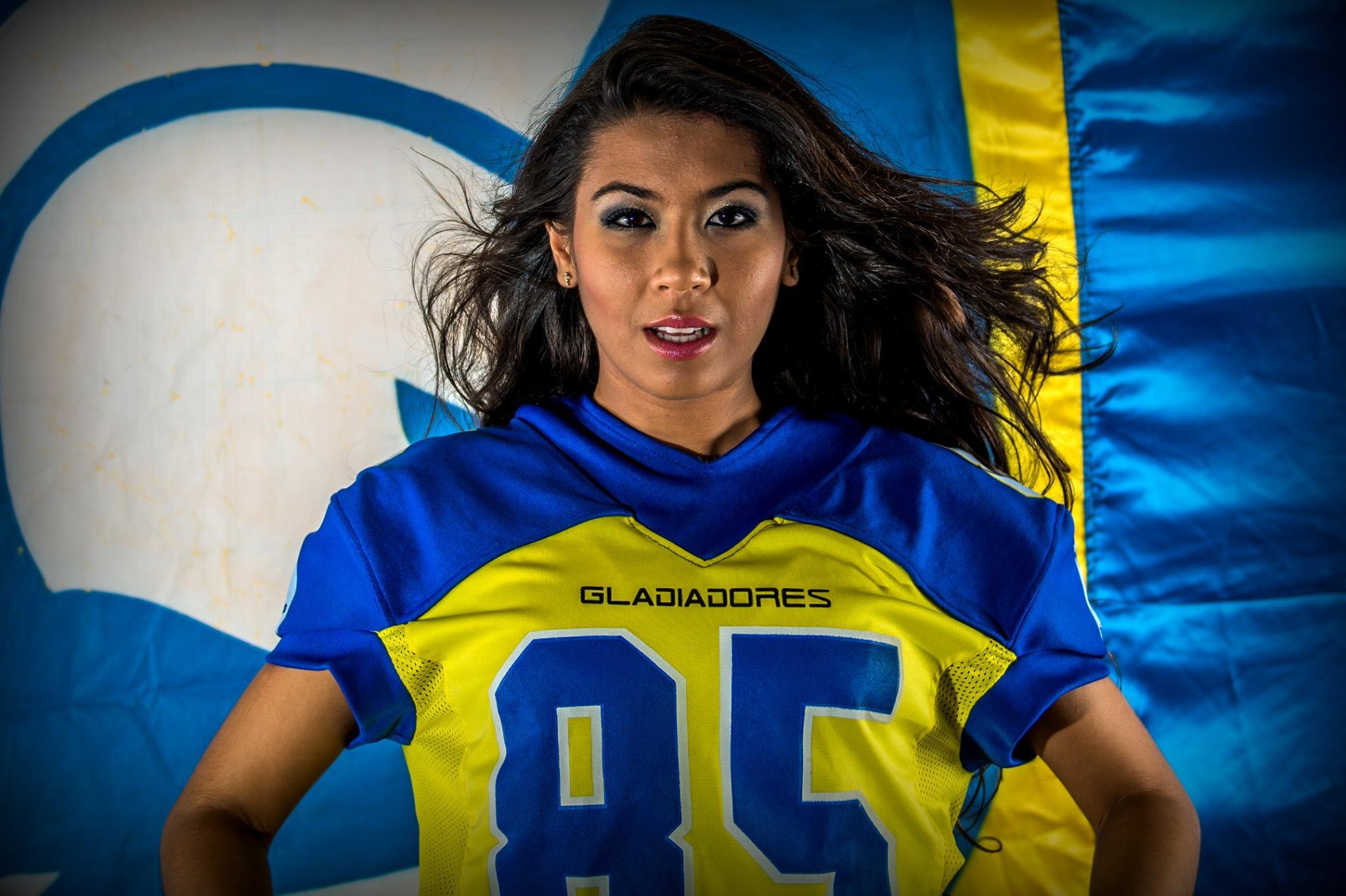 Angel Lakismy irá representar os Gladiadores em concurso. Fotos de Chiarini Junior / Divulgação Pouso Alegre Gladiadores