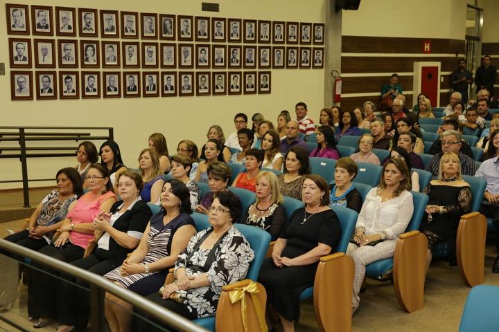 Mulheres de destaque, ex-vereadoras e ex-candidatas a prefeito foram homenageadas na Câmara.