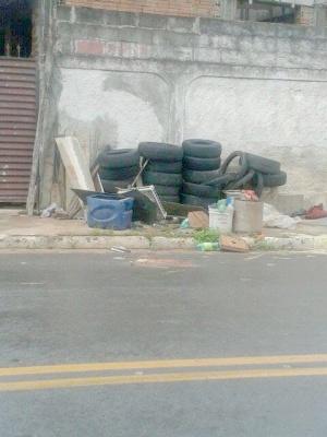 Entulhos e lixo jogados em terrenos e calçadas se tornam um verdadeiro criadouro do inseto
