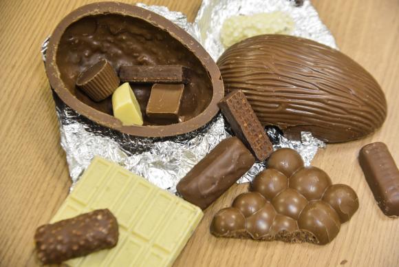 Fiscais vão conferir quantidade de chocolate e segurança do brinquedo dentro do produto. Arquivo/Agência Brasil