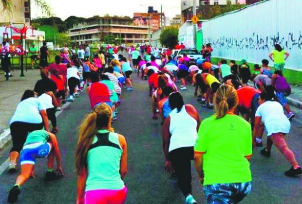 Ginástica de rua em Contagem inspirou projeto de Pouso Alegre