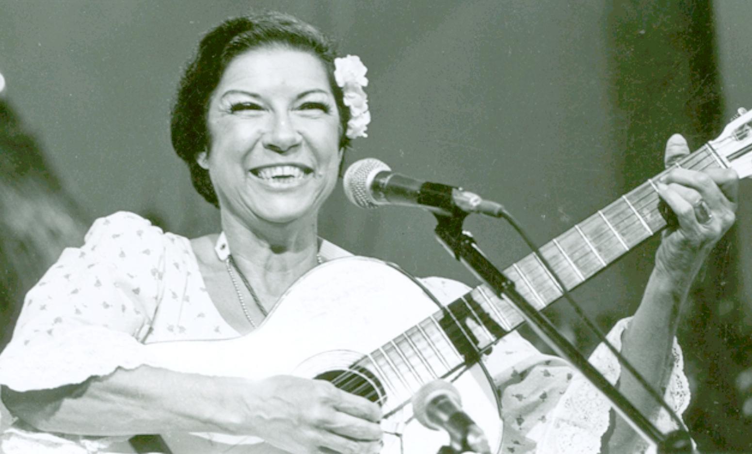 Inezita foi professora durante três anos de Folclore e de Música Popular Brasileira, no Conservatório Estadual de Pouso Alegre.