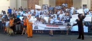 Ato também aconteceu em mais de 60 cidades de todo o Brasil.