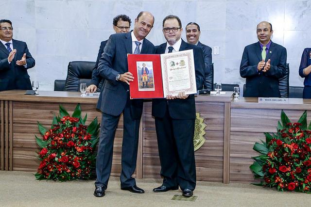 Hamilton Fernandes Magalhães homenageou Eduardo Ribeiro de Magalhães