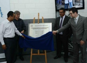 Inauguração do galpão. Foto: Divulgação SEDS