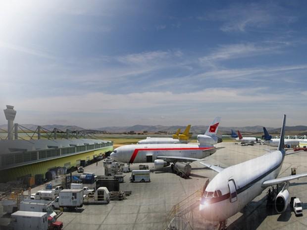Aeroporto de cargas será construído próximo ao bairro Curralinho, perto da CIMED.