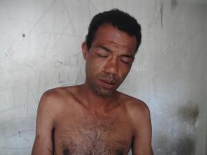 Rafael Rodrigues da Silva , preso após bater na mãe e roubar um carro, é suspeito de assassinato.