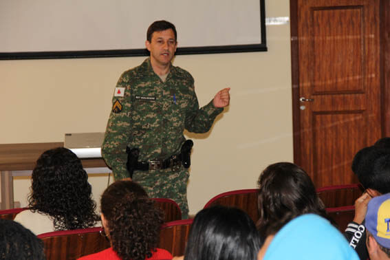 Dia 19 - 9h palestra policia Ambiental, sargento Guilherme Nogeira Balás