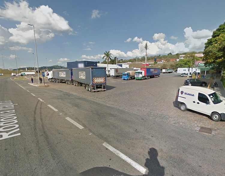 Local do assalto. Imagem: Google Street View